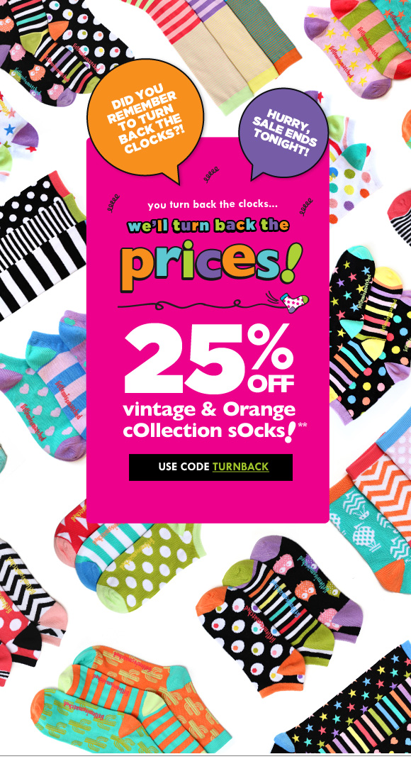 87f5f0ff69aaa LittleMissMatched  1 Extra Hour to Shop Our 25% OFF Socks Sale Today ...