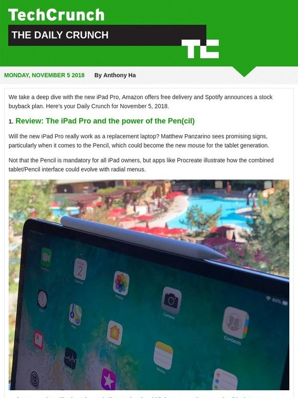 TechCrunch: We review the iPad Pro | Milled