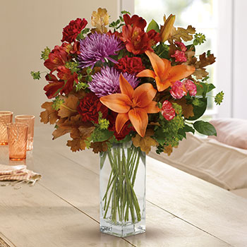 Teleflora's Fall Brights Bouquet