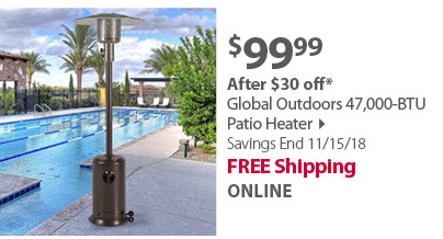 Global Outdoors Heater