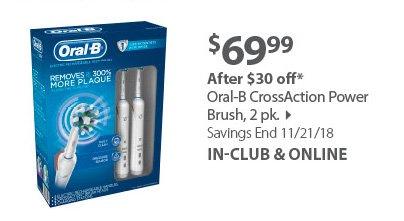 Oral-B CrossAction Power Brush