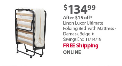 Linon Ultimate Folding Bed