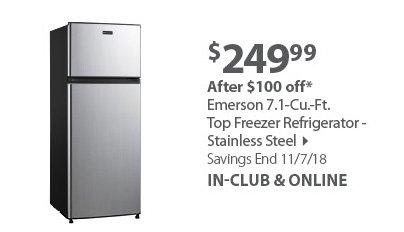 Emerson Top Freezer