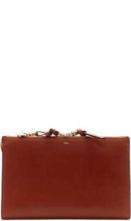 Chloé - Red Joe Alphabet Pouch