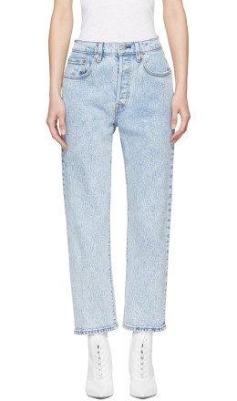 Levi's - Blue 501 Cropped Jeans