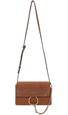 Chlo - Brown Small Faye Bag
