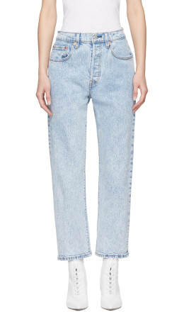 Levi's - Blue 501 Cropped Jeans