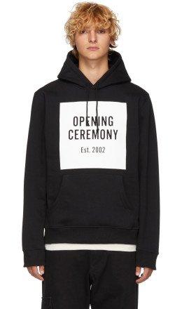 Opening Ceremony - Black Box Logo Hoodie