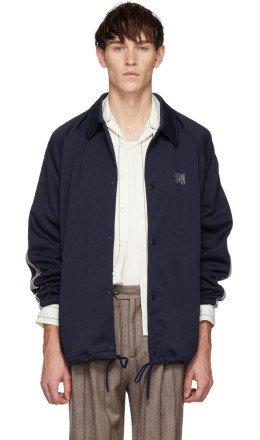 Needles - Navy Coach Jacket