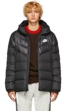 Nike - Black Down Windrunner Jacket