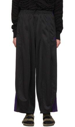 Needles - Black Narrow Track Pants