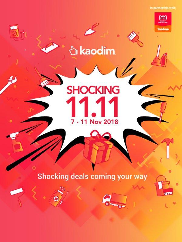 Kaodim My Big Discounts This 11 11 Shocking Sale Milled