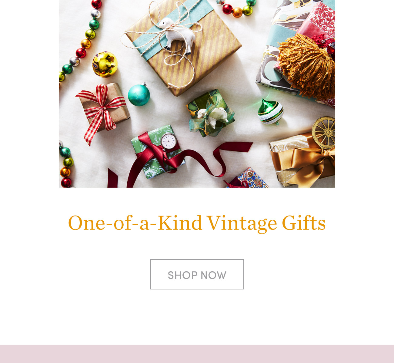 One-of-a-Kind Vintage Gifts >