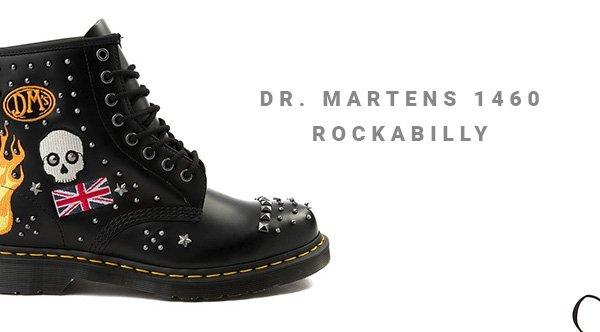dr martens 1460 rockabilly