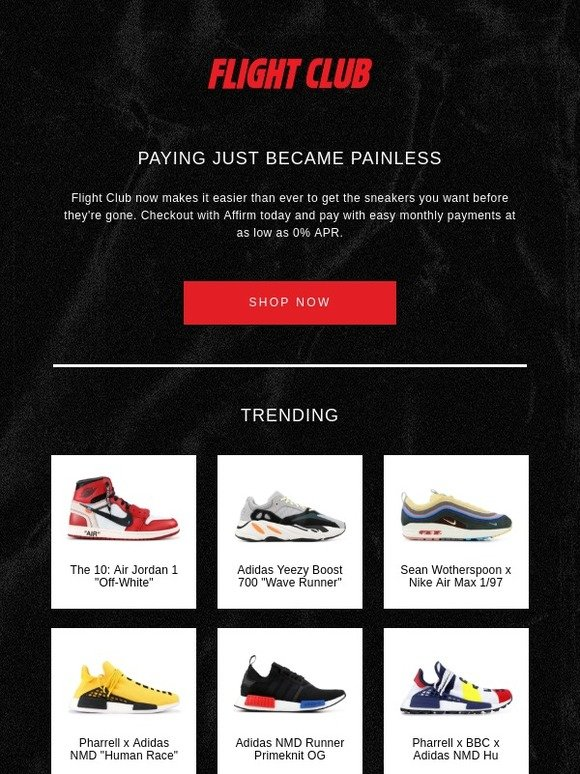 online store b5a93 54058 Flight Club New York: Buy now, pay later with easy monthly ...