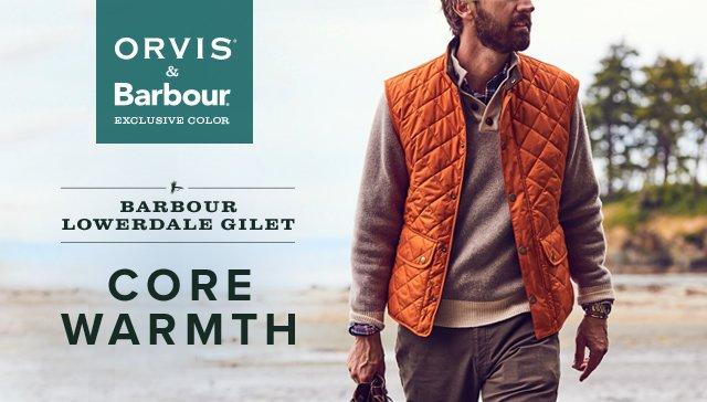 barbour wool lowerdale gilet