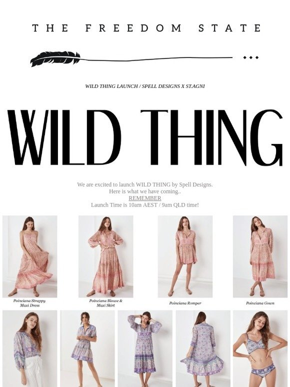 The Freedom State: WILD THING by Spell x St  Agni footwear