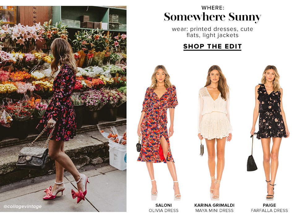 Somewhere Sunny - Shop The Edit
