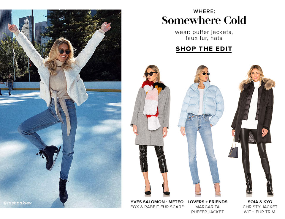 Somewhere Cold - Shop The Edit