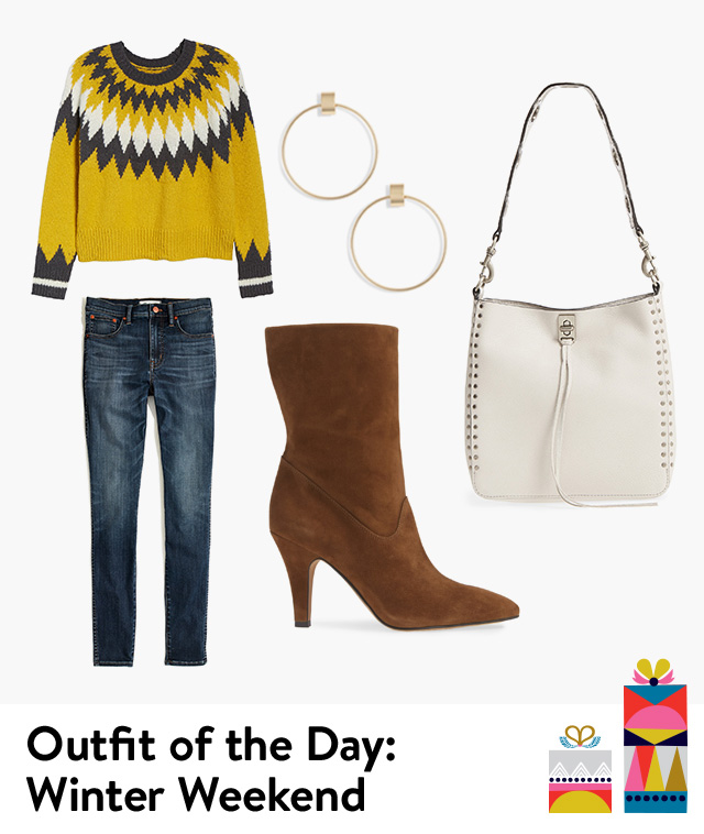 Outfit of the day: winter weekend.