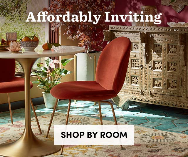 Affordably Inviting - Shop By Room