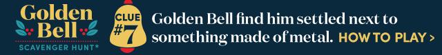 Golden Bell Scavenger Hunt* Clue #7. How To Play