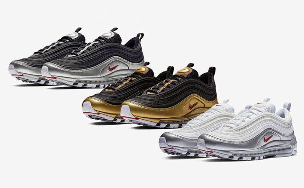 Sefton Fashion: ⏰ Nike Release : AIR MAX 97 QS 'B SIDES