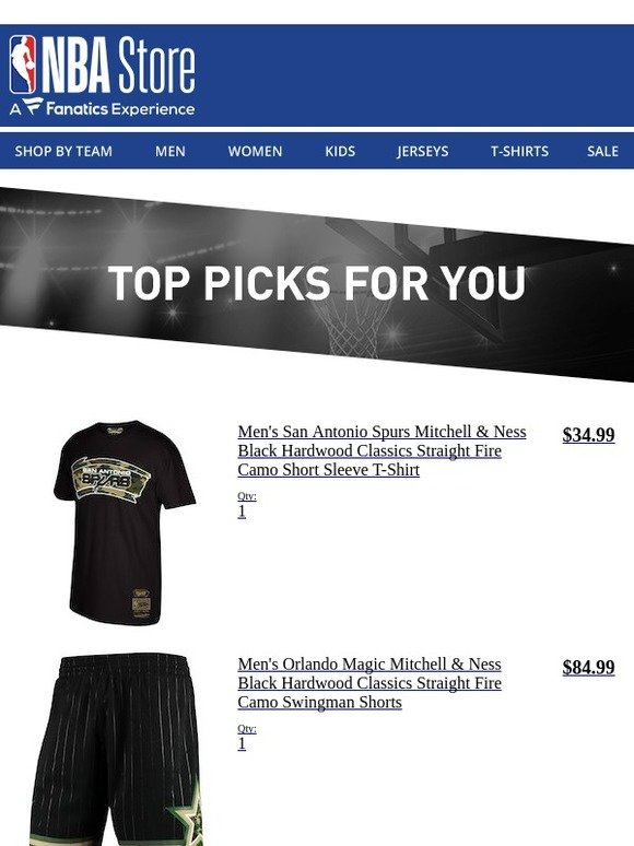 d3eb14616 NBA Store  You Have Great Taste