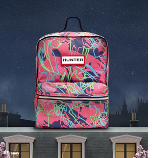 Original Printed Kids Backpack: Arcade Pink