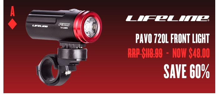 LifeLine Pavo 720L Front Light