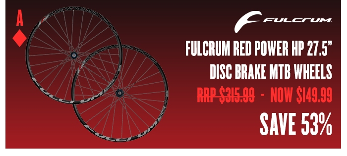 Fulcrum Red Power HP 27.5 Disc Brake MTB Wheels