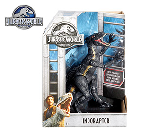 Jurassic World Villain Indoraptor Figure
