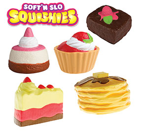 Soft nSlo Squishies 5-Pack