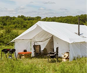 HUNTING CAMP ON SALE