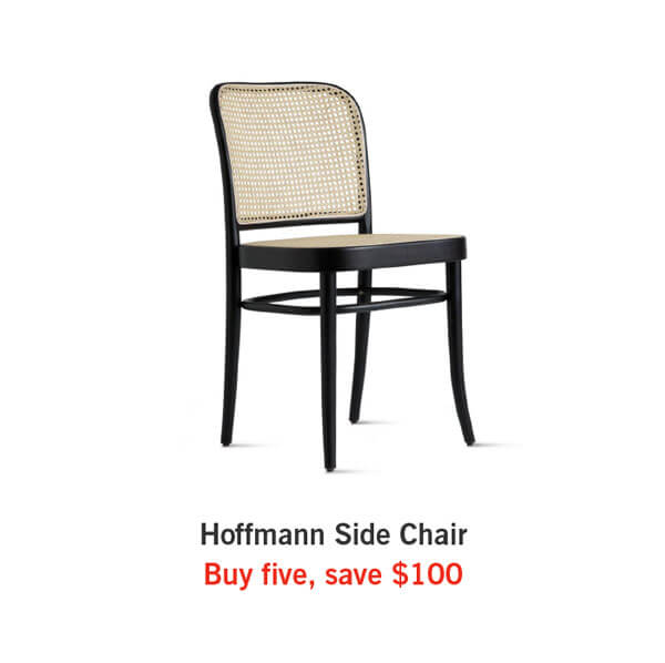 Hoffmann Side Chair  Buy five, save $100