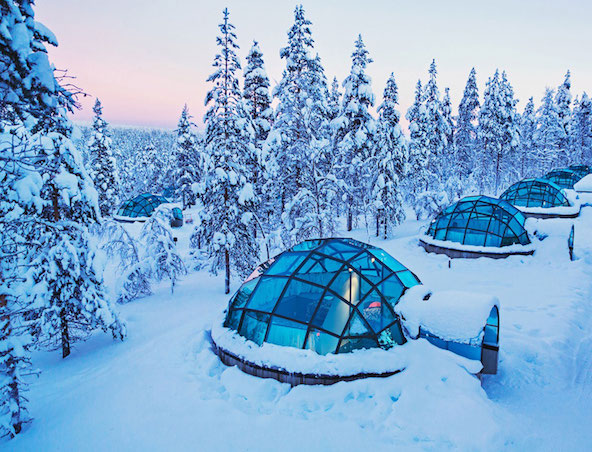 Four Ice Hotels to Visit This Winter