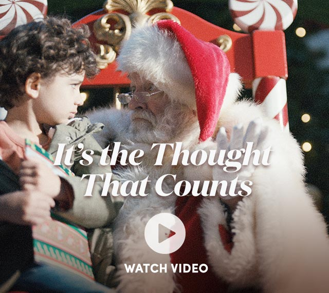 It's The Thought That Counts - Watch Video