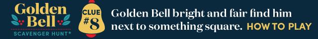 Golden Bell Scavenger Hunt* Clue #8. How To Play