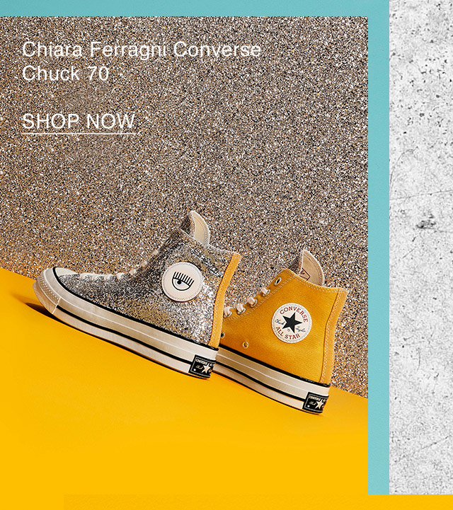 Shop Now: Converse x Chiara Ferragni Chuck 70