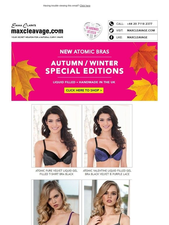 371ee2d173206 MaxCleavage.com  Treat Yourself To A Special Edition Atomic Bra - Our  Customers Love Them!