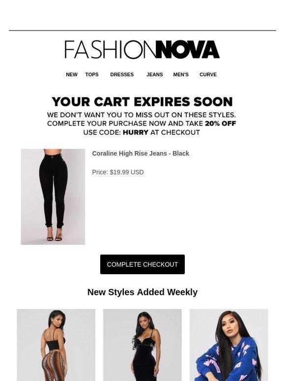 db5c6b8b986 Fashion Nova  Did You Leave Something Behind  Come Back + Take 20% OFF