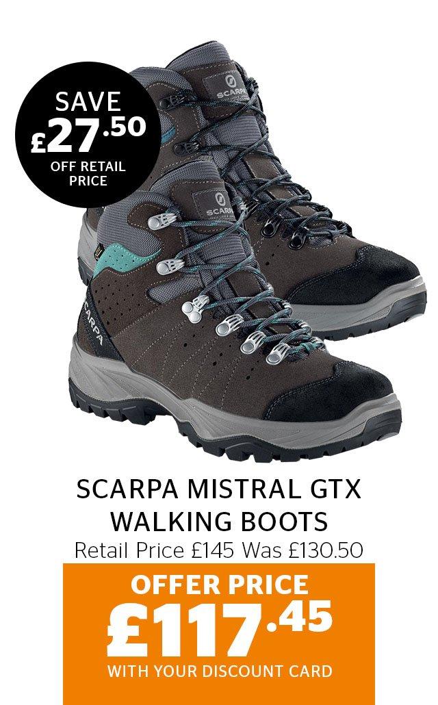 Scarpa Mistral GTX