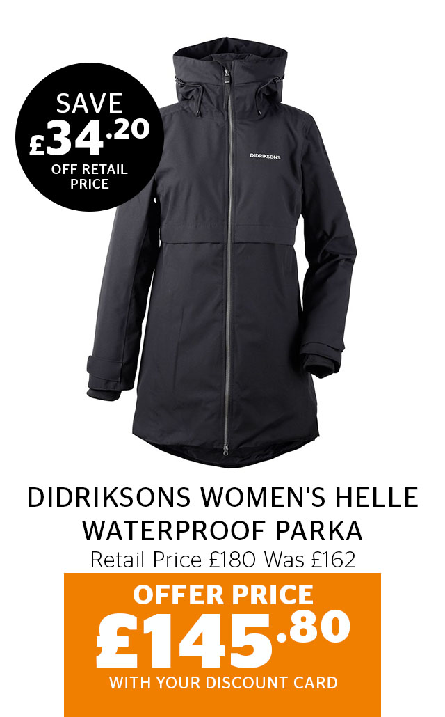 Didriksons womens Helle Parka