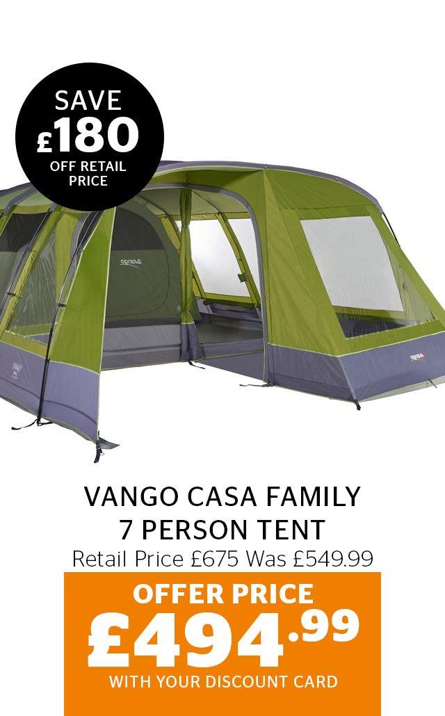 Vango Casa 7 Person Tent