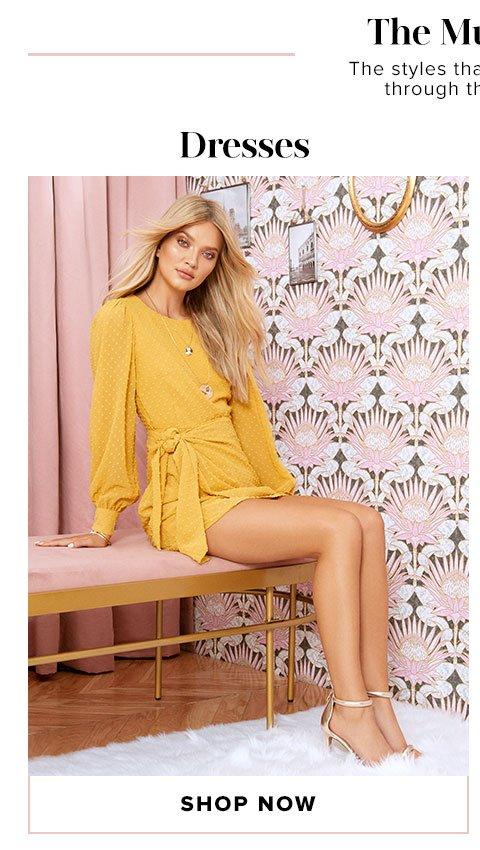 The Must List - Shop Dresses
