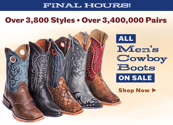 6120ba0367f Sheplers: All Cowboy Boots on Sale Now – Shop Over 3,000 Styles in ...