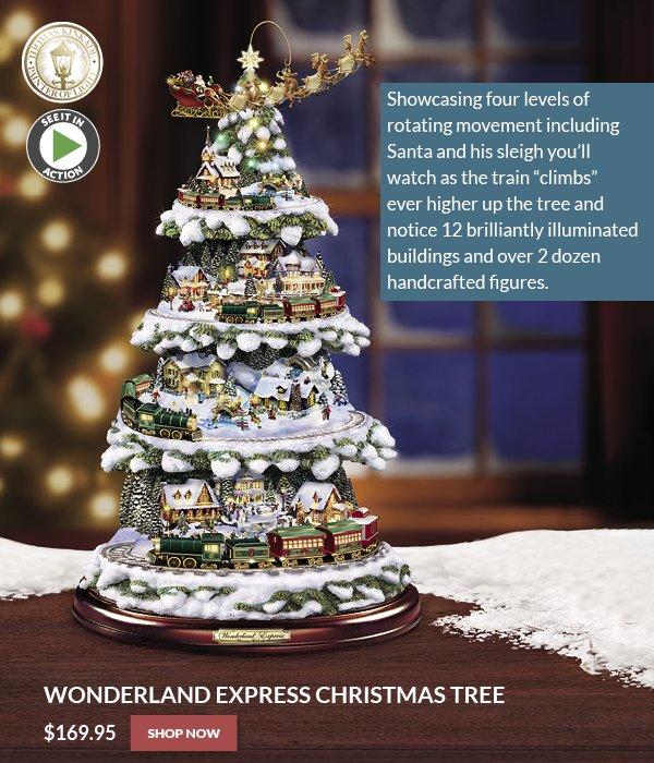 Sporty S Preferred Living Wonderland Express Christmas Tree Display