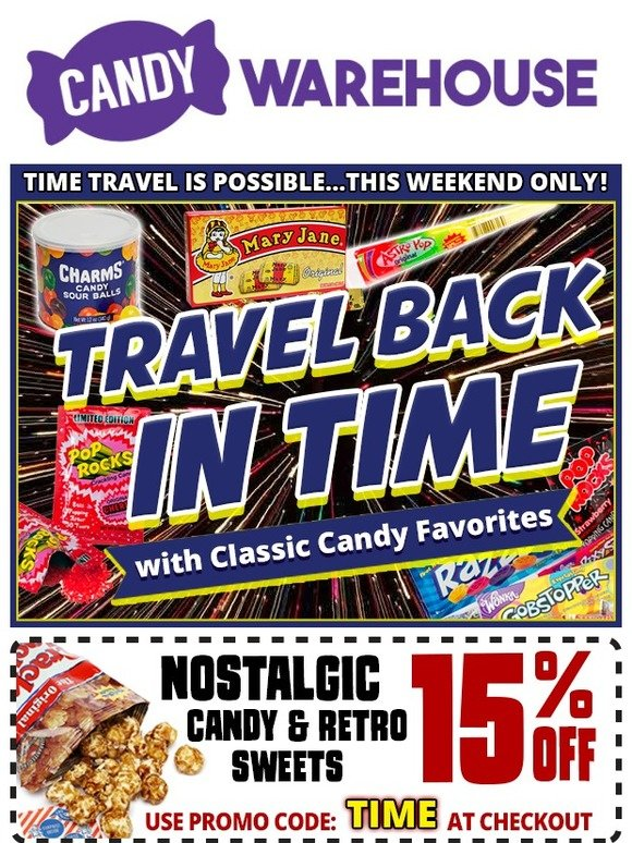 CandyWarehouse com: Sale on Candy from your Childhood | Milled