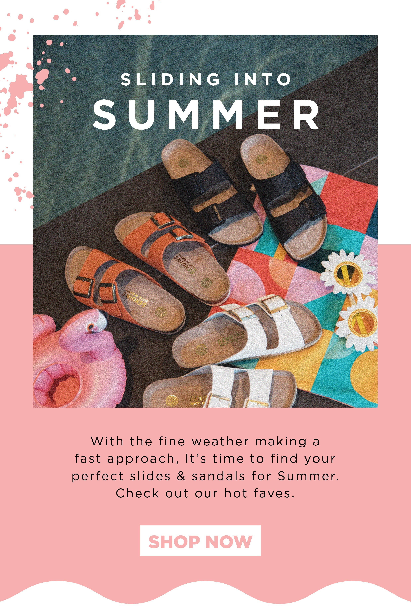 Platypus Shoes: Get Your Summer Slides