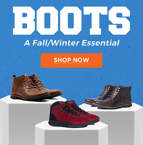 BOOTS A Fall/Winter Essential | Shop Now